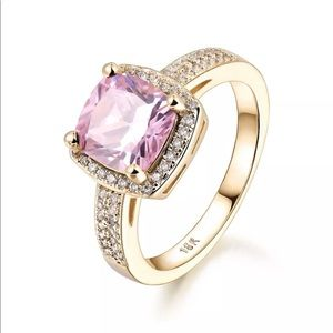 Jewelry - 18k pink sapphire ring